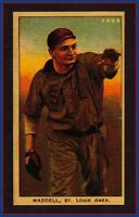 Rube Waddell, St Louis Browns glossy Centennial rare Miller Press, NM-MINT 🔥