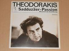 THEODORAKIS - Sadduzäer-Passion - LP Eterna