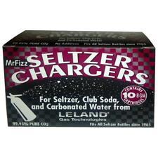 100 Leland (LE10 CO2) CO2 Soda Chargers - 8 Gram C02 Seltzer Water Cartridges