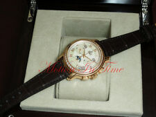 Zenith ChronoMaster Women's 18kt Rose Gold Moonphase 38mm 22-1230-410-80C665GB