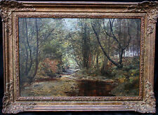JOHN HENDERSON RRA 1860-1924 SCOTTISH IMPRESSIONIST OIL PAINTING ART PAINTING