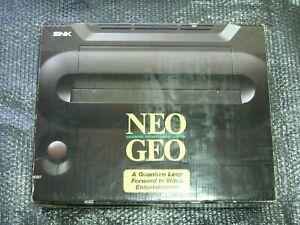 SNK NEO GEO NEOGEO Console System