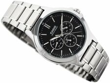 Casio Analog Business Watch Standard Silver Mens Mtp-v300d-1a