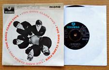 "DAVE CLARK FIVE -SELF TITLED - COLUMBIA 8289 - U.K. EP - 1963 - ""DO YOU LOVE ME"""