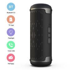 Tragbarer Wireless Bluetooth Lautsprecher Stereo Subwoofer SD Musicbox mit FM