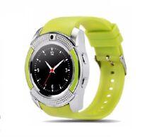 V8 Premium SmartWatch Uhr GRÜN Bluetooth Samsung iPhone Android SIM Kamera