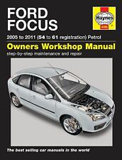 Haynes Owners Workshop Manual Ford Focus Petrol (05 -11) SERVICE REPAIR