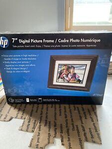 HP DF730A2  7' LCD Digital Photo Frame  Brand New Sealed Box