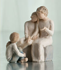 Willow Tree Grandmother with 2 Granddaughters Figurine Gift Set   22836