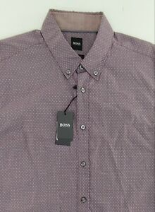 HUGO BOSS slim fit XL Rod_53  shirt NEW WITH TAGS Men's