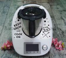 Aufkleber Sticker Thermomix Vorwerk TM21 TM31 TM5 Keep Calm and Cook On (Nr.14)