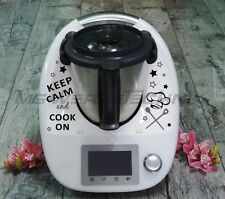 Autocollant Sticker THERMOMIX VORWERK tm21 tm31 tm5 Keep Calm and Cook on (nº 14)