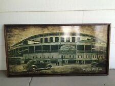 Wrigley Field wall art, Wrigley field 1914 wall decor, Wrigley field decor