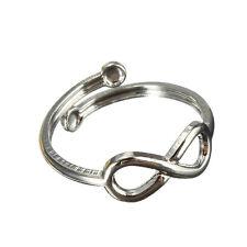 Fashion Women Simple Retro Infinity Design Adjustable Toe Ring Foot Jewelry CA19