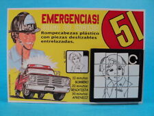 EMERGENCY! * DIXIE McCALL (Julie London) SLIDE SLIDING PUZZLE GAME ARGENTINA