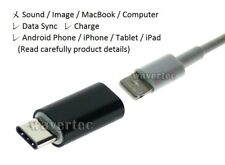 USB C to Lightning Female Adapter Type C Male Apple Female to Samsung OEM KAY