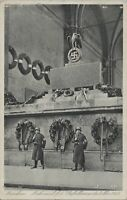GERMANY POSTAL HISTORY PHOTO POSTCARD MILITARY BUILDING MUNCHEN ADDR YRS'40