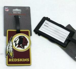 NFL Washington Redskins Luggage Tag Travel Bag ID Golf Tag FREESHIP