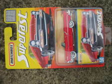 Mint Carded Matchbox Superfast 1957 Lincoln Premier in red