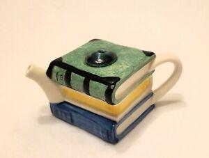 Vintage Tony Carter England Ceramic Teapot Coffee