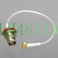 """TNC Jack to SMP RA Female RF Coaxial cable SV Microwave WPA Wireless AP RG316 6"""""""