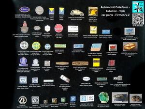 Auto Zulieferer/Zubehör (V-Z) Anstecknadeln car parts pins badges AUSSUCHEN