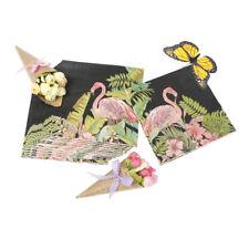 20x / borsa Flower Flamingo print Tovagliolo tovagliolo Hawaiian Party Table VN