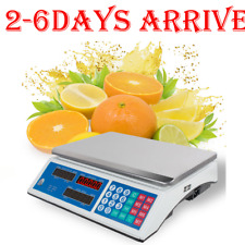 Digital Weight Scale Price Computing Food Meat Scale Produce Indutrial NEW[CA]