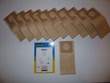 10 sacchetti polvere per HOOVER h25 S 2490 - 2498 2494 2496 N in esclusiva 700 Electronic