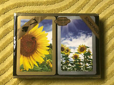 Congress Sunflower Playing Cards  2 Decks Brand New