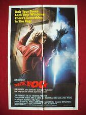 THE FOG 1980 ORIGINAL MOVIE POSTER 27x41 STYLE B JOHN CARPENTER'S HALLOWEEN NM-M