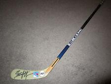 Brian Leetch New York Rangers Signed Autographed Hockey Stick Coa Nhl 100