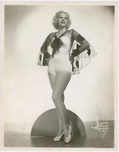 Vintage '30s Murray Korman Art Deco Cheesecake Pin-Up Chorine Glamour Photograph
