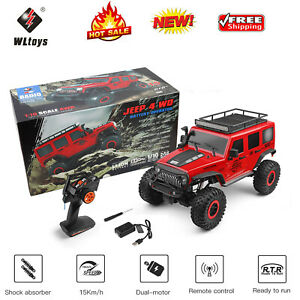 WLtoys 104311 1:10 4WD RC Crawler Auto Off Road Wrangler Jeep Truck Buggy SUV