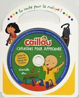 Caillou - Chansons Pour Apprendre [New CD] With Book, Canada - Import