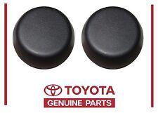 2000-2006 TUNDRA REAR BUMPER DOME CAPS GENUINE TOYOTA PT228-34000-BK SET OF 2