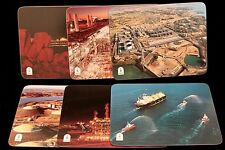 Karratha Ling Gas Plant - Boxed Set of 6 Placemats -Dynasty - VGC