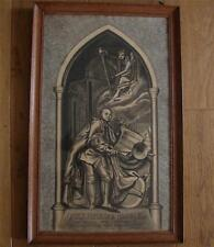 Charcoal /Chalk Drawing grave monument Handel composer musician( 1685-1759)