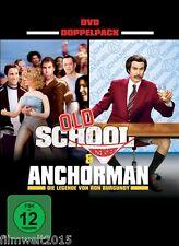 Old School / Anchorman [2 DVDs mit Will Ferrell](NEU&OVP)