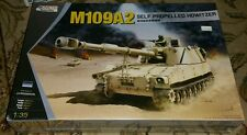 KINETIC 1/35 M109A2 SELF PROPELLED HOWITZER MODEL KIT 61006 Military Armor