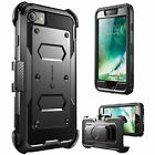 iPhone 8 i-Blason Armorbox Holster Case with Screen Protector Rugged Dual Layer
