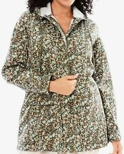 WOMAN WITHIN PRETTY ZIP FRONT LIGHTWEIGHT HOODED JACKET PLUS SIZE 1X 22/24 *NIP*