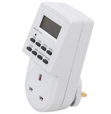 Enchufe 7 Días Temporizador Digital 12/24 Horas LCD Programable Toma De U337