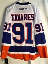 Reebok Premier NHL Jersey New York Islanders John Tavares White sz M