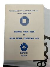 1970 EXPO 70 Chase Manhattan Visitor Guide Book Japan World Exposition Osaka 36p
