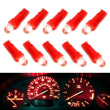 Red Projector Head 37 73 74 79 T5 Gauge Cluster Background Lighting LED Bulbs