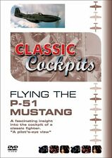 Classic Cockpits - North American P-51D Mustang (New DVD) Aviation Aircraft
