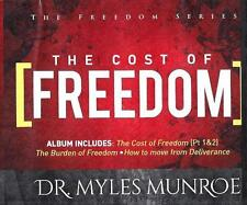 The Cost & Burdom of Freedom - Move from Deliverance - 4 Cds -  Dr. Myles Munroe
