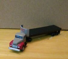 Classic Metal Works Breir and Smith Building Materials Tractor Trailer N scale
