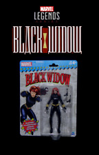 "Marvel Legends Vintage Series Packaging: BLACK WIDOW Classic 6"" Avengers Figure"